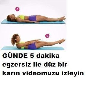 make your flat stomach owner with 5 minutes of workout a
