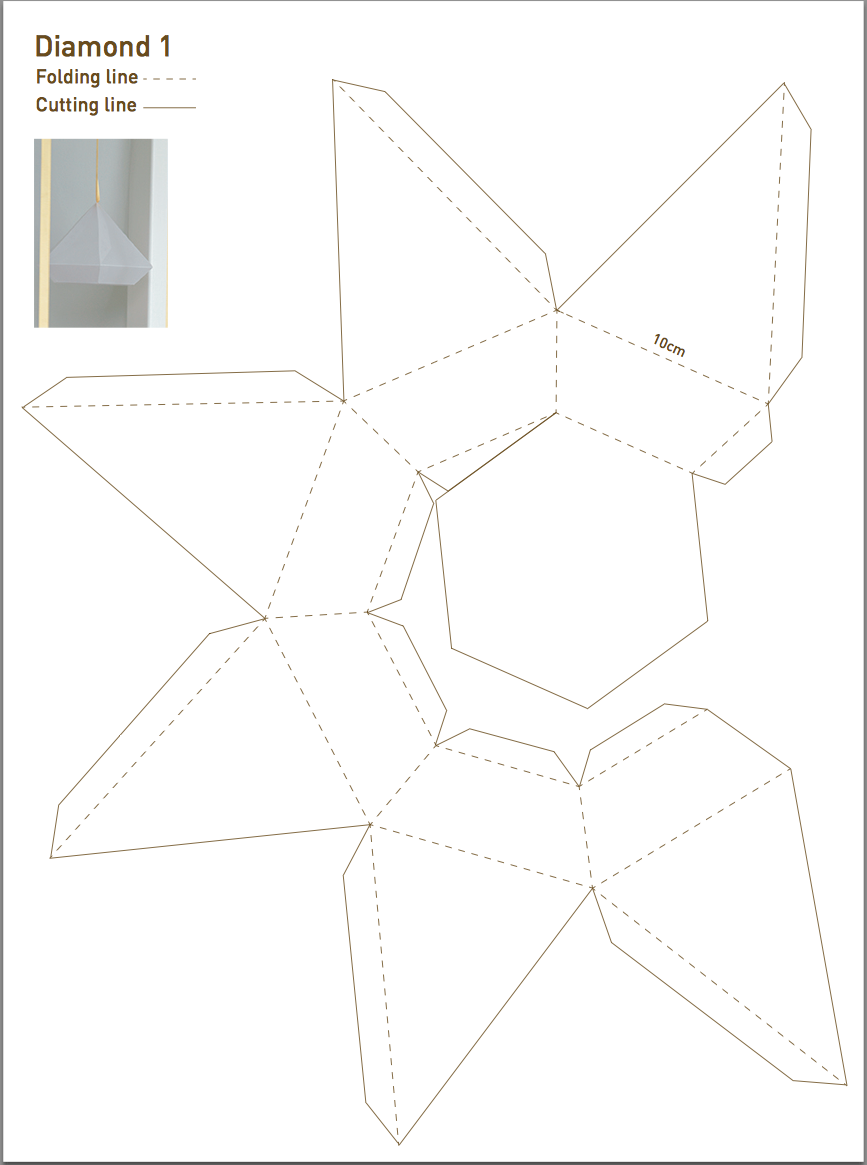 pmurphy print origami diamond and index download paper