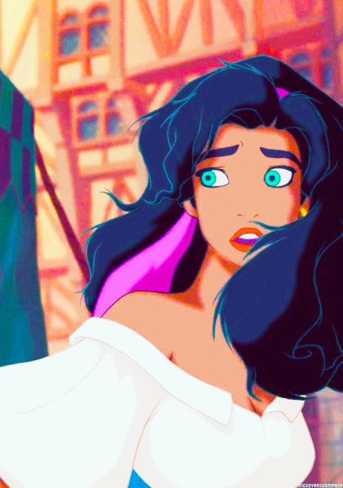 Esmeralda may not be your typical Disney Princess, but she ...