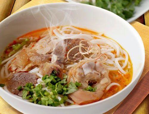 Bun Bo Hue (Hue Style Beef Noodle Soup) – in Thua Thieu Hue province