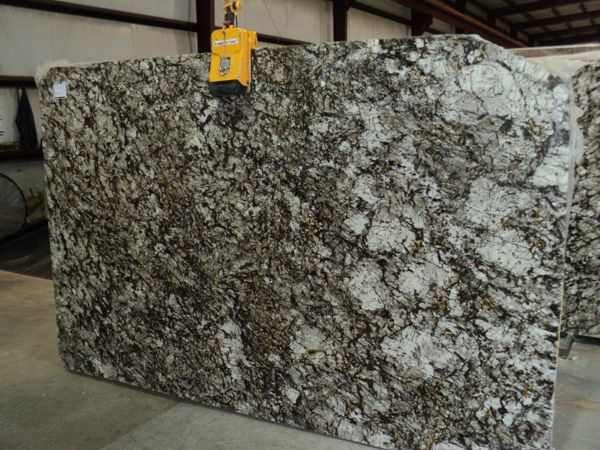 White Olympus Granite Slab 136