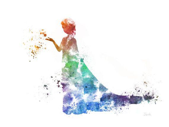 Elsa princesse disney image cendrillon disney - Peinture princesse disney ...