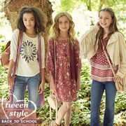 Take a look at the Back-to-School Tween Style | Boho event on #zulily today!