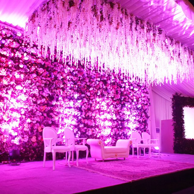 A special seating area complete with a ceiling of hanging blooms was weddingextra ordinary wedding themes ideas finding a great theme for your wedding can be very difficult and stressful as choosing the perfect dress junglespirit Image collections
