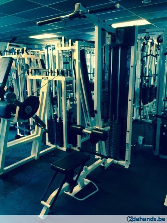 Life fitness lat pully en rowing in ook technogym