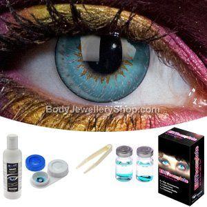 Aqua 3 Tone Contact Lens Complete Set Contact lenses