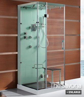 Savona Steam Shower Cabins | Master Bath Showers | Pinterest | Steam ...