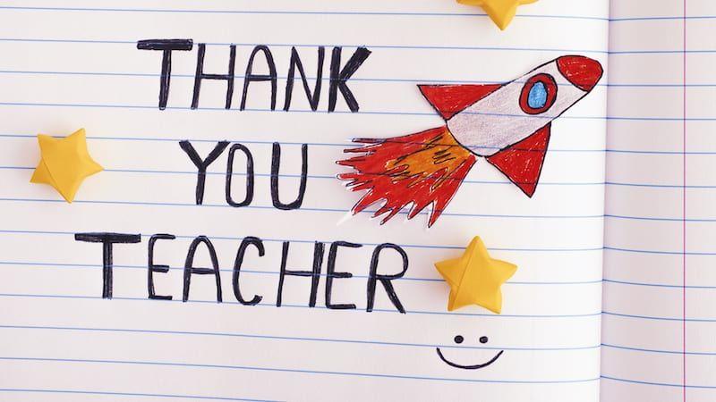 Photo of Wie man die Wertschätzung von Lehrern praktisch immer noch zu etwas Besonderem macht