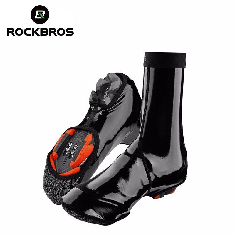 XL Mountain Bike Warm Waterproof Cycling Overshoes Windproof Shoe Cover L