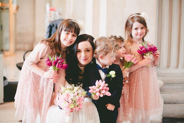 Having little ones as guests for your wedding? We offer some helpful advice on how to manage kids at weddings and involve them on the big day...