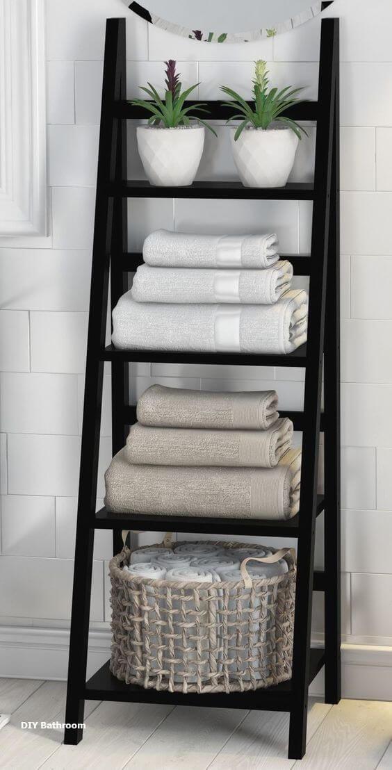 Photo of 32+ Creative DIY Towel Storage Ideas & Designs For Bathroom In 2021