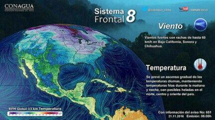 #LaRealnoticia Video: Pronòstico del Tiempo para 21 de Noviembre del 2016 http://ow.ly/6GLj306nOLJ