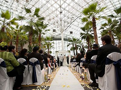 Crystal Garden At The Navy Pier Chicago Wedding Venues Locations Downtown Event Center