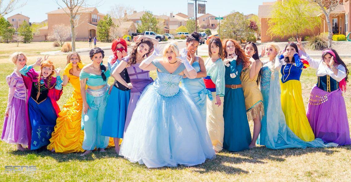 Princess Cosplayers