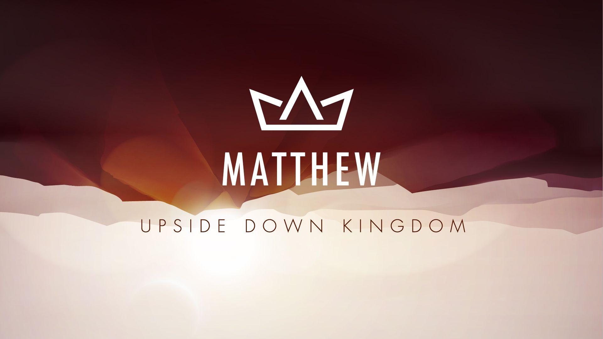 'Matthew' by Anthem Church Sermon series, Church, Sermon