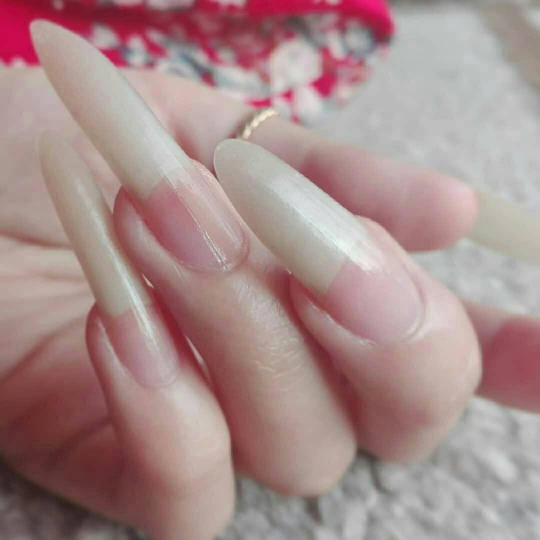 Pin By Lenora Burke On Awesome Unique Long Long Nails Natural Nails Womens Nails Long Nails