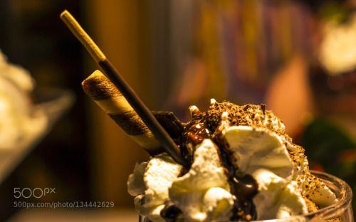 sweet decoration by elkelugert  IFTTT 500px background chocolate closeup cream delicious dessert food gourmet ice cream icecream i