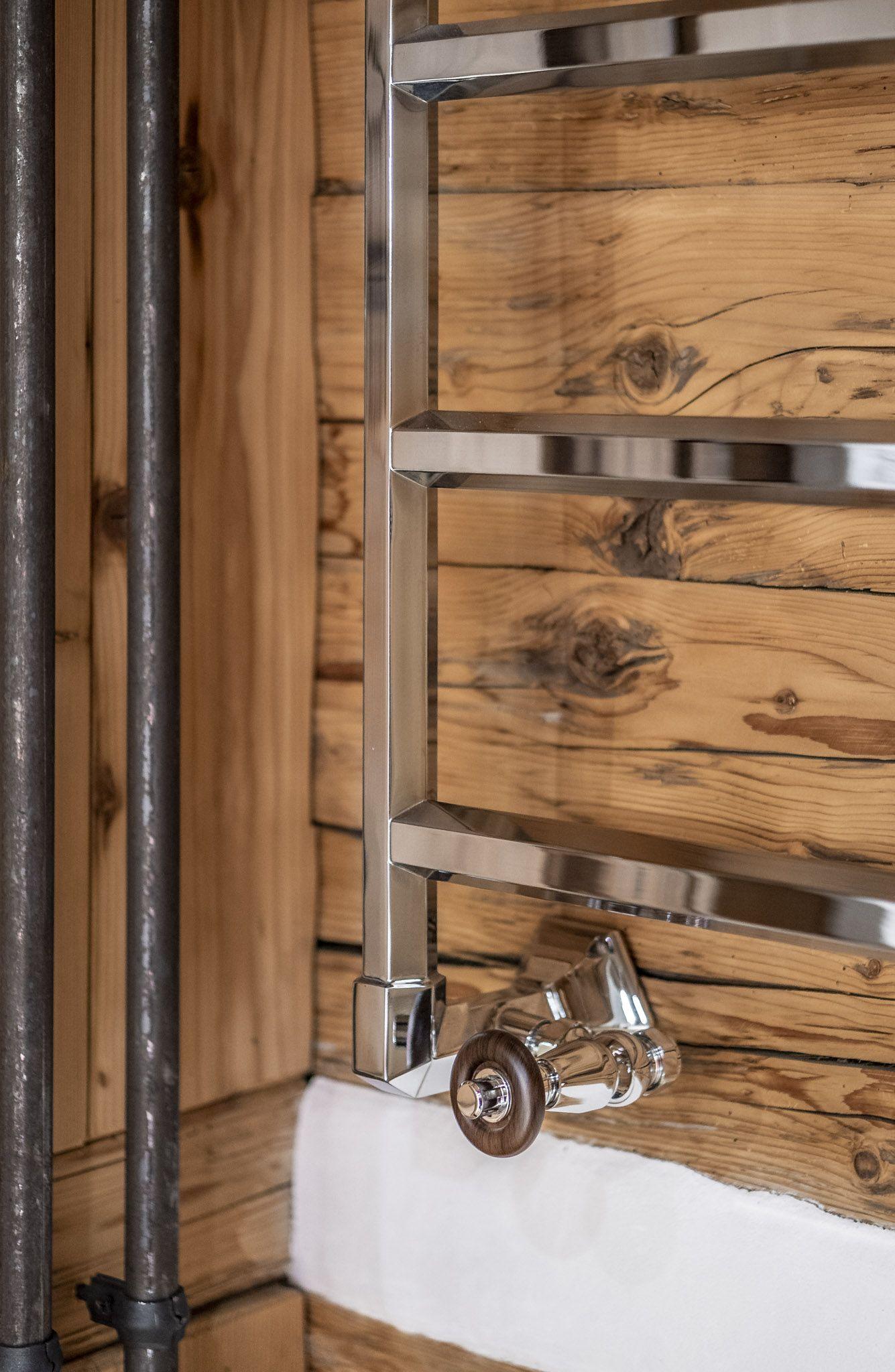 Retro Handtuchwarmer Handtuchwarmer Traditionelle Bader Badezimmerideen