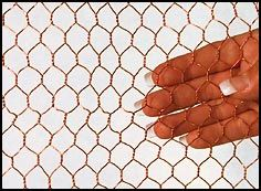 Specialty 1 2 Bronze Hexagonal Wire Mesh 90 Copper 10 Zinc Love This To Make A Sculptural Fence To Keep Snails Out Of My Plan Wire Mesh Chicken Wire Mesh