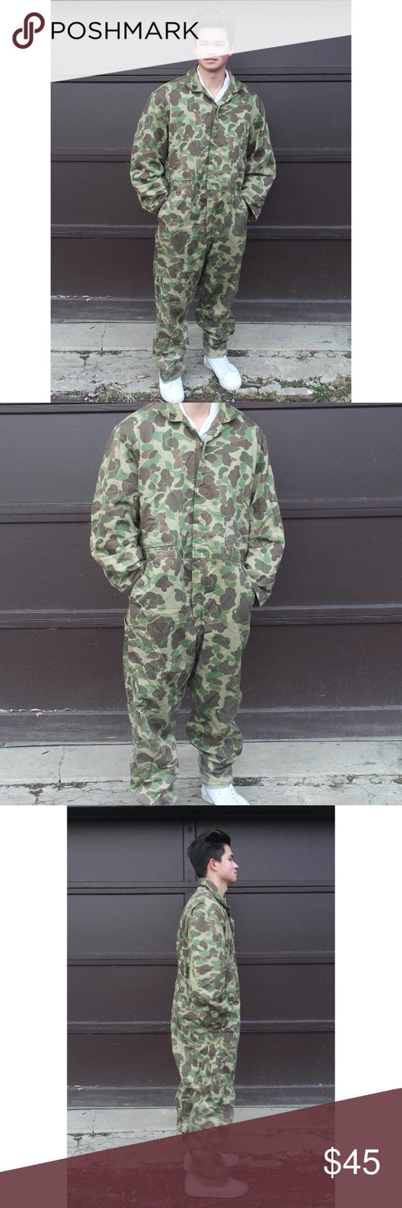 vtg walls blizzard proof camo quilted jumpsuit the on walls hunting clothing insulated id=80554