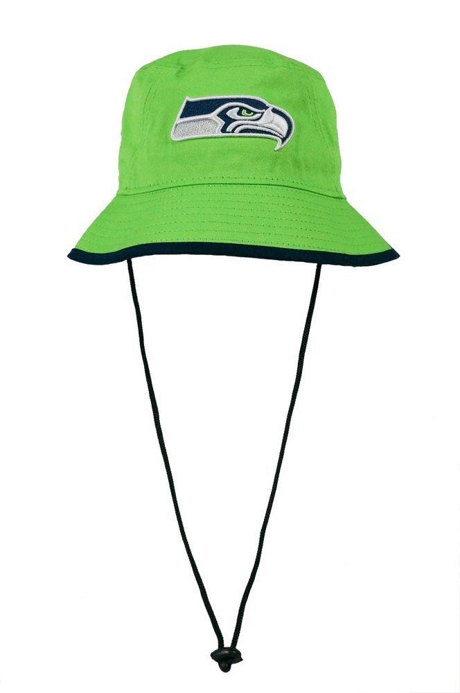 New Era Seattle Seahawks Tipped Reverse Team Bucket Hat Lime  NewEra   SeattleSeahawks f24d317a5de