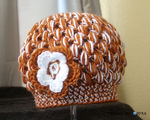 Bubble Hat - University of Texas Longhorns Orange and White - Ready ... 0683b24a04a