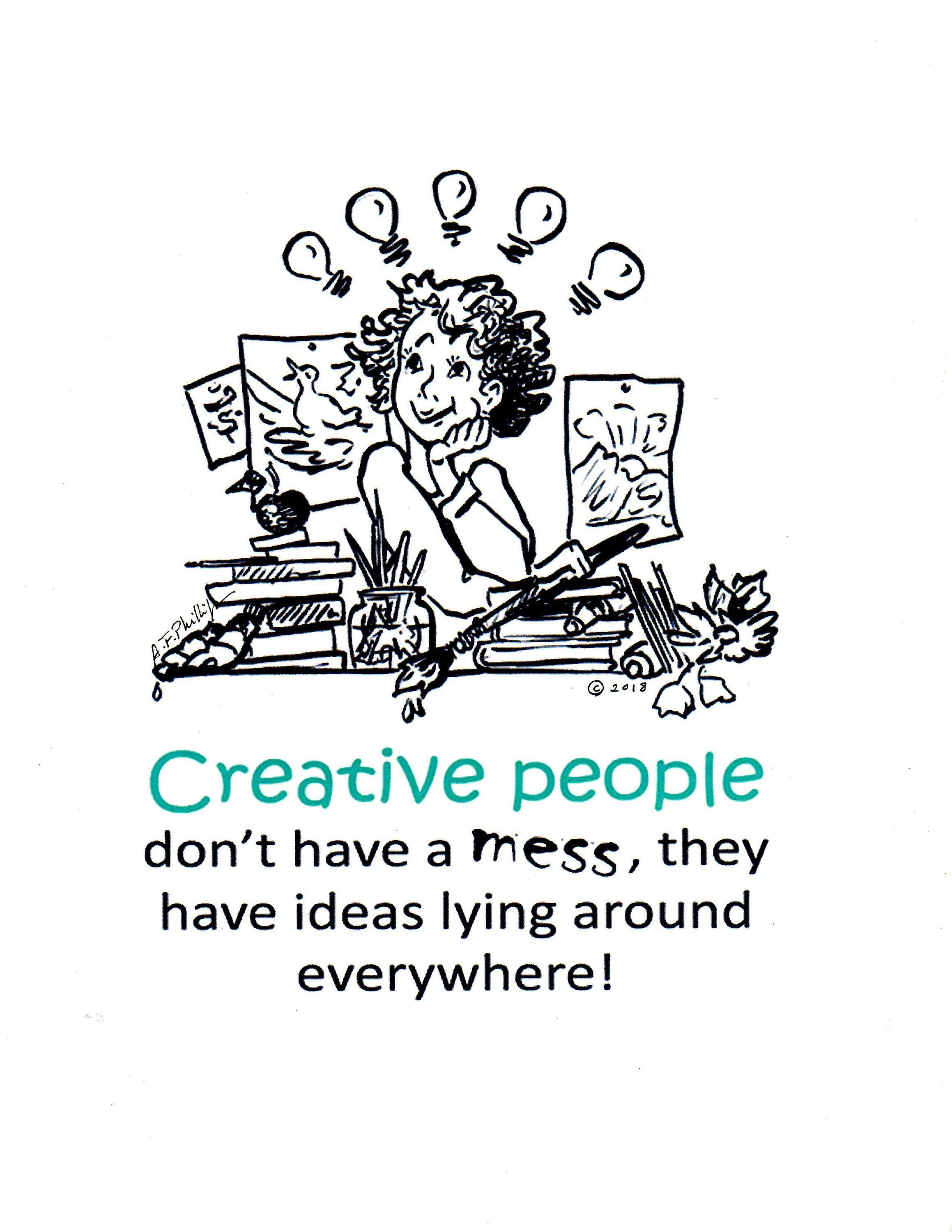 Creative People Illustrated Quote Art Humor Inspirational Etsy Art Quotes Funny Artist Quotes Artist Humor
