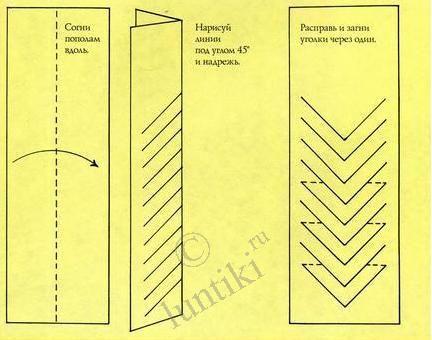 414Как сделать закладки из бумаги для книг