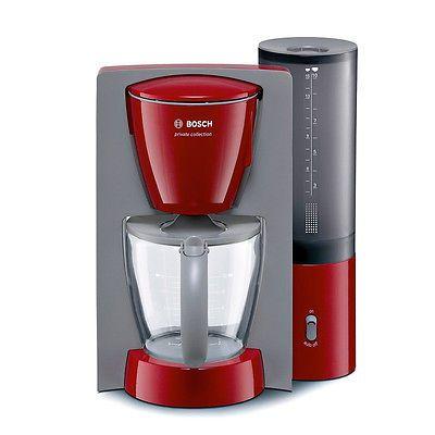 Bosch Kaffeemaschine Kaffeeautomat Tka6034 Rot Eek Asparen25 Com