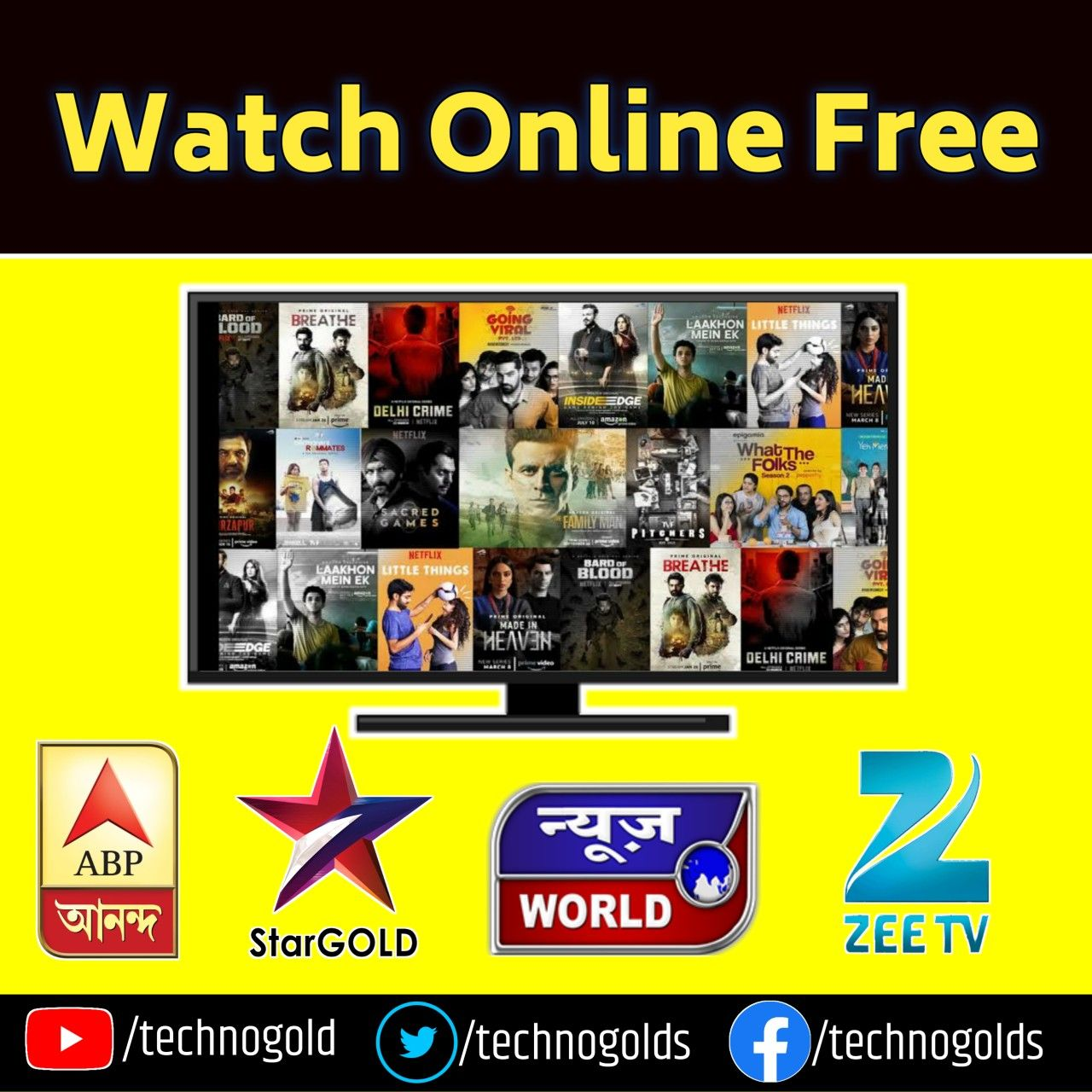 All WebSeries Movies Live Tv Watch Online Free App