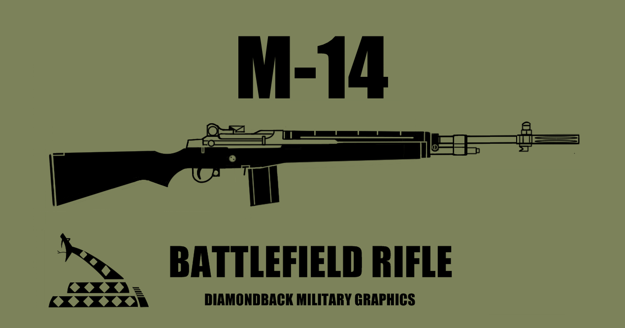 M Rifle Vinyl Decal At Diamondbackgraphicsetsycom Gun - Custom gun barrel stickersgun decals shotgun barrel sticker shooting ammo decal
