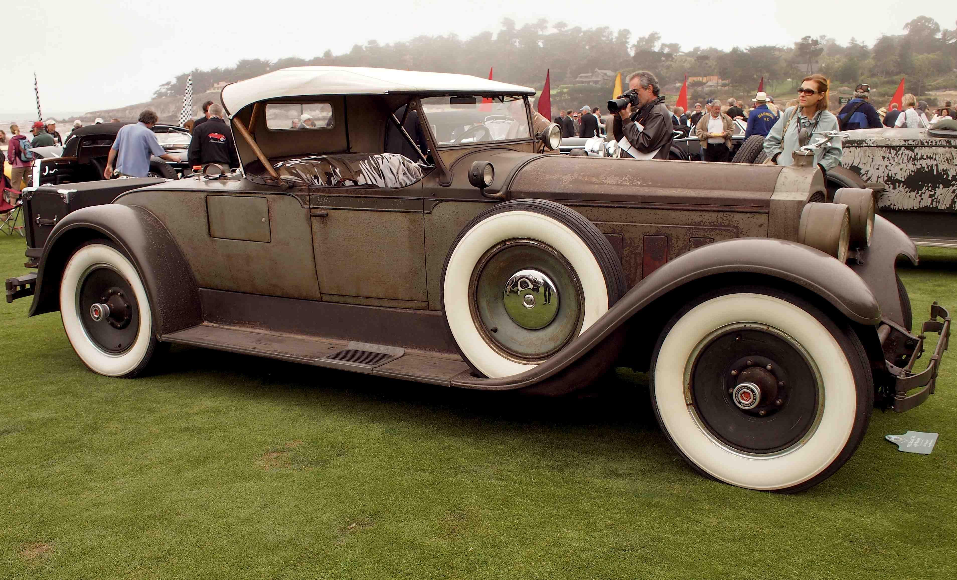 Packard 1928 Packard 443 Eight Cylinder Roadster In The Pre War Preservation Packard Vintage Cars Motor Car