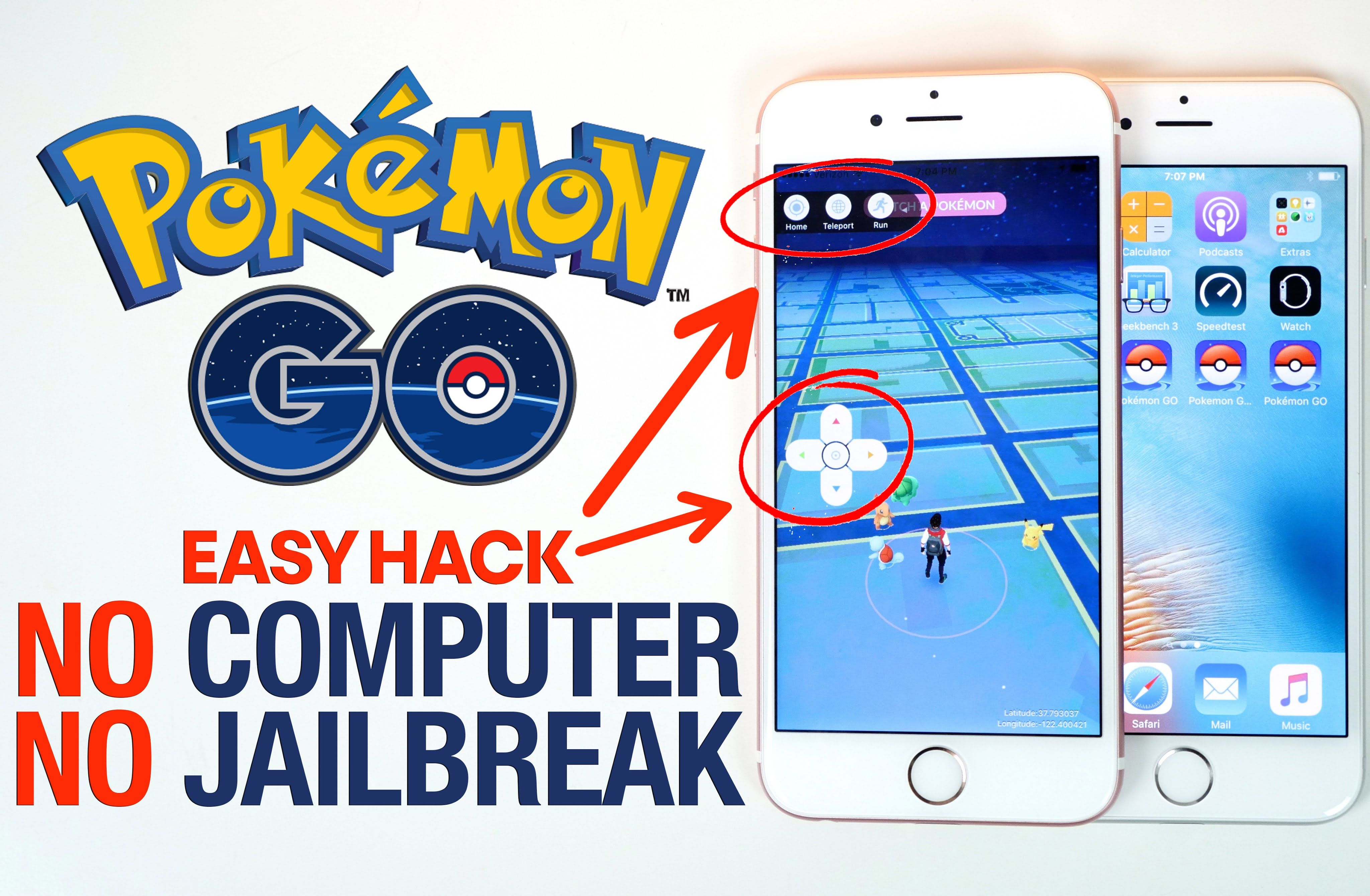 Pokemon Go Hack Tools No Verification Unlimited Pokecoins