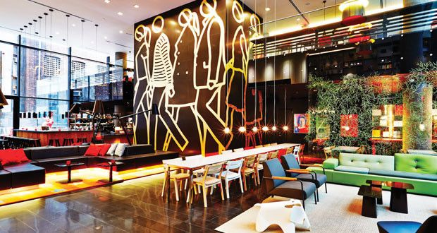 bibo restaurant bibo restaurant in hong takes on a street inspired look thanks to its collaboration with the creative agency substance