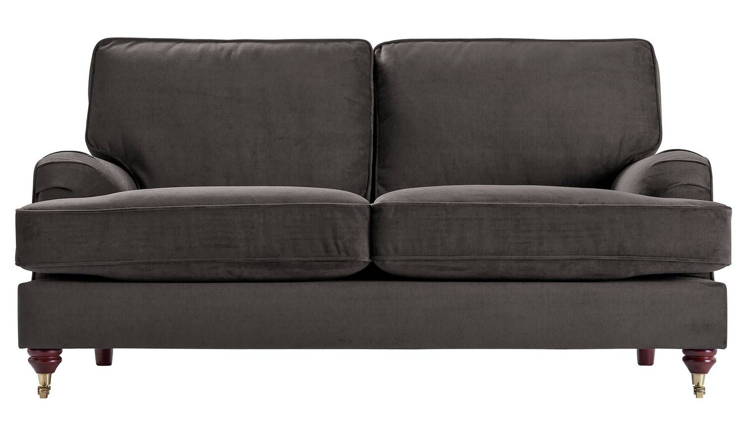 Buy Argos Home Abberton 3 Seater Velvet Sofa Navy Sofas