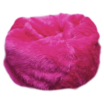 Frivolous Fabulous Hot Pink In The Doll House Miss Millionairess Beanbagchair Bean Bag