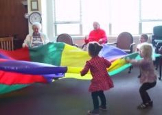 When A Preschool Is Located In A Nursing Home, Magic Happens