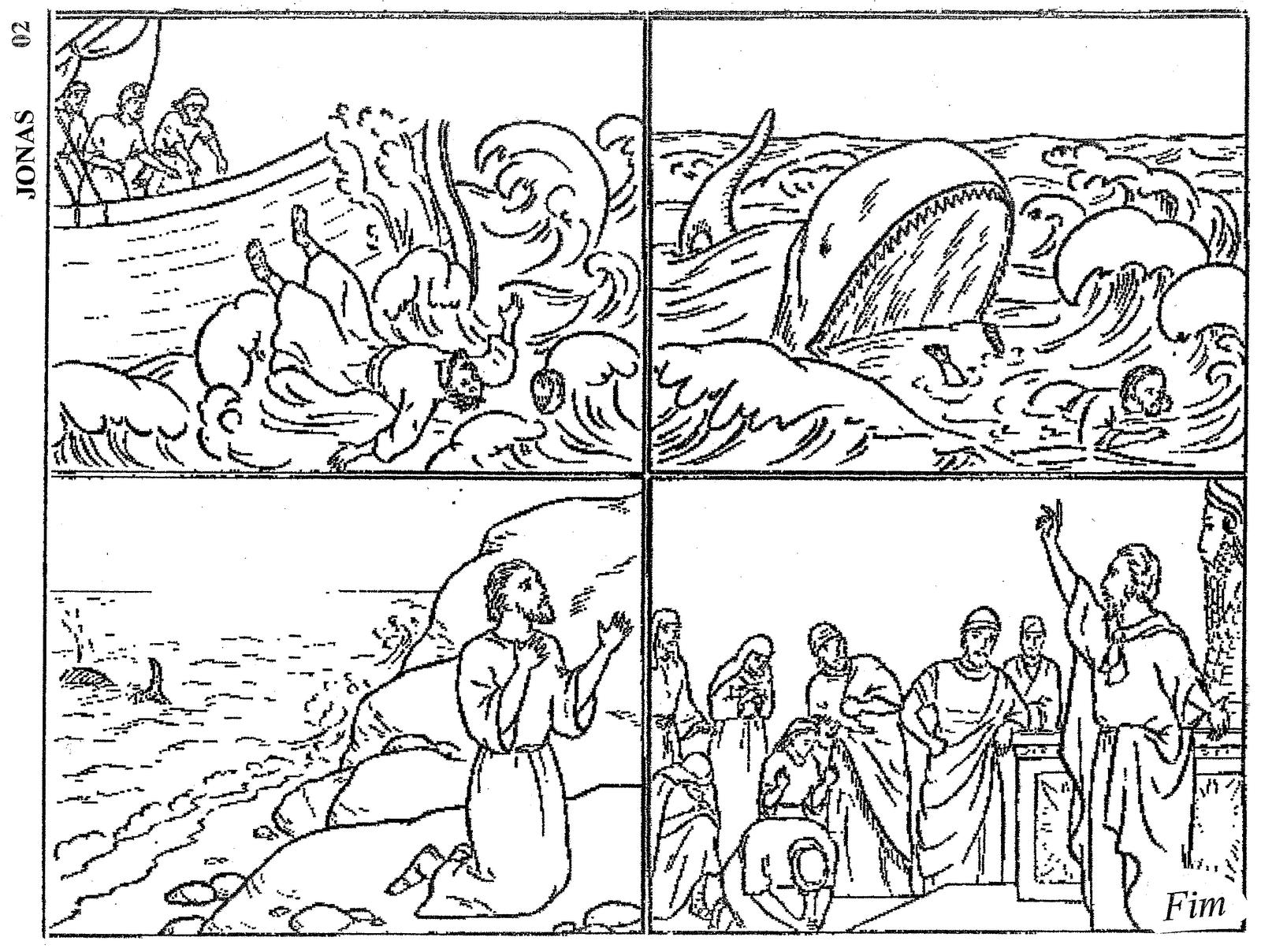 Jona Ausmalbild