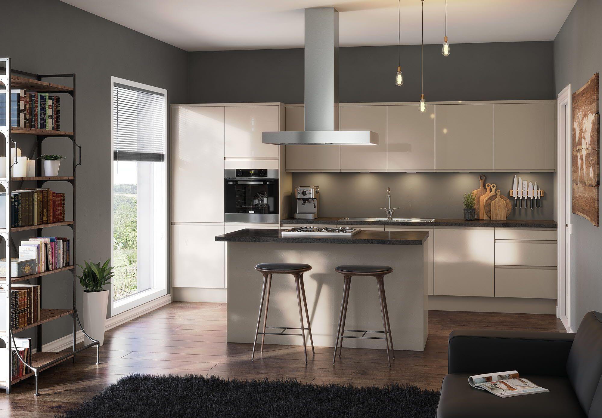 Luna Cashmere Kitchen room design, Cashmere kitchen