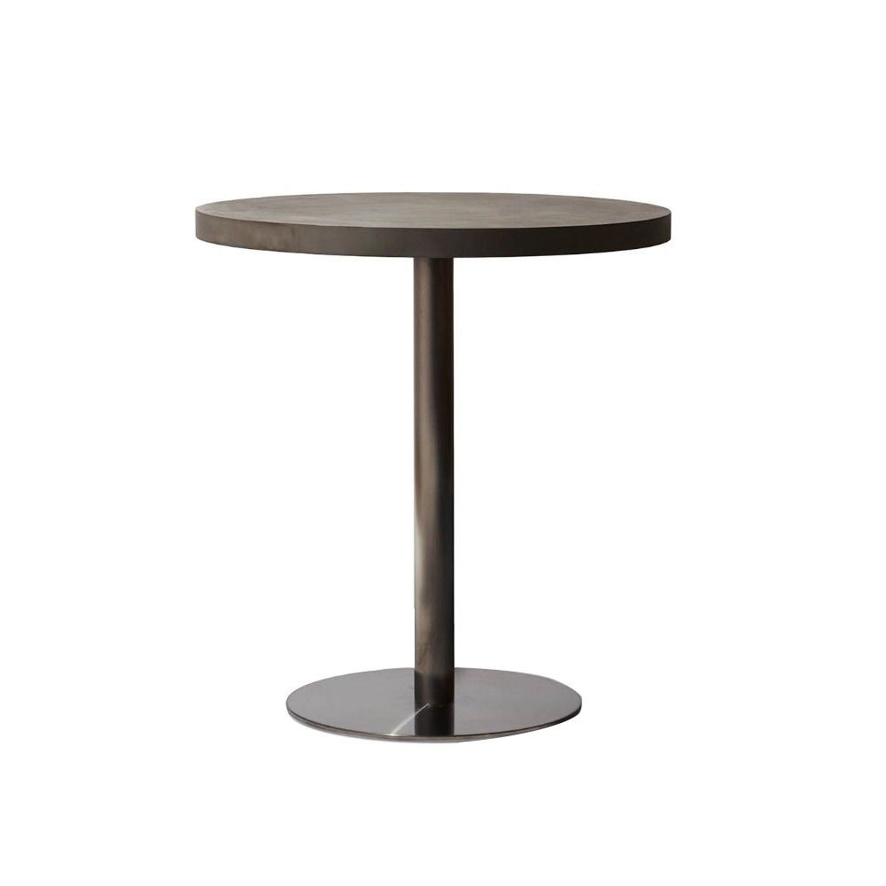 Industry Bistro Table (Concrete Round)