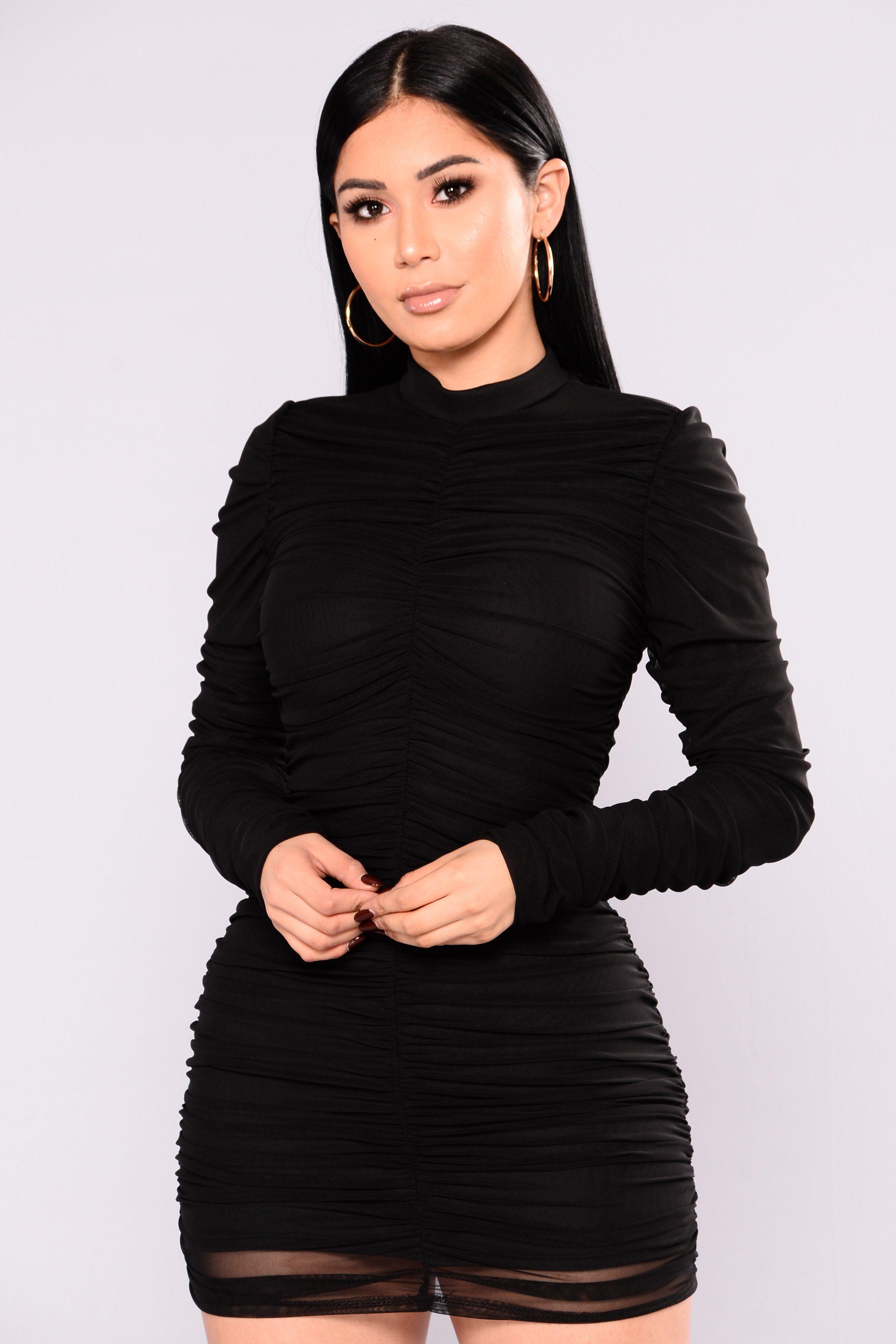 Fresh Off The Red Carpet Dress Black Fashion nova