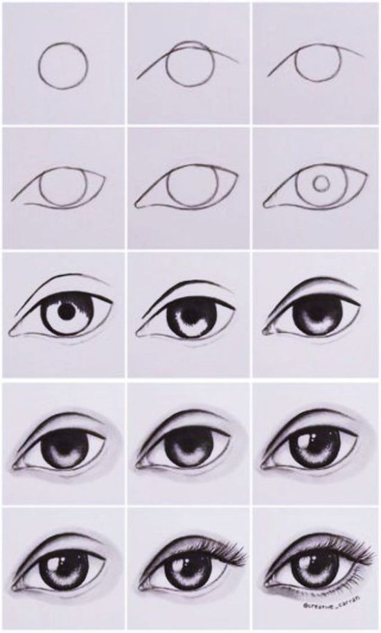 Disegni Da Copiare Esempi Di Disegni Da Studiare E Copiare Eye Drawing Tutorials Cool Art Drawings Pencil Art Drawings