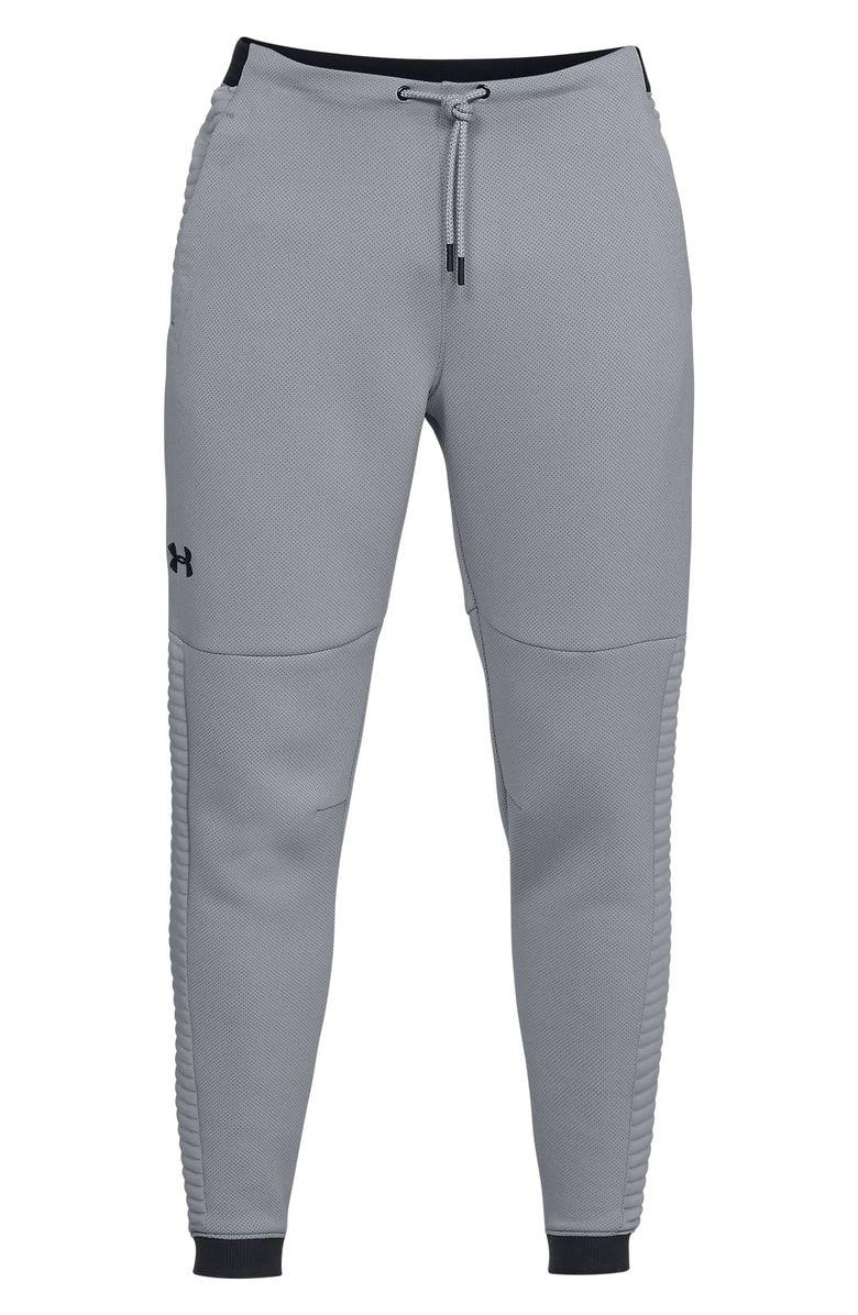 Under Armour Men'S UnstoppableMove Jogger Pants, Grey