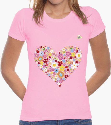 Camiseta Coraflores Camiseta mujer corte clásico 19,90 € - ¡Envío gratis a partir de 3 artículos!