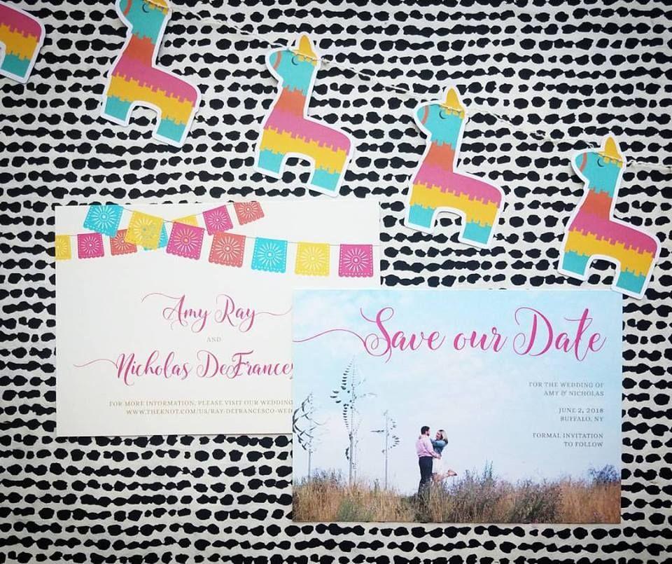 Oh Happy Day Wedding Invitations - Hoopla House Wedding Invitations ...
