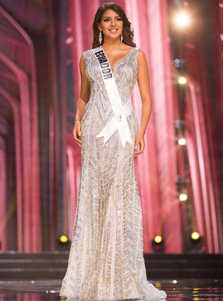 Los trajes de gala de las concursantes latinas de Miss Universo ...