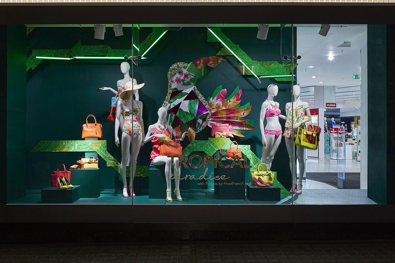 Debenhams summer window display | display ideas ...