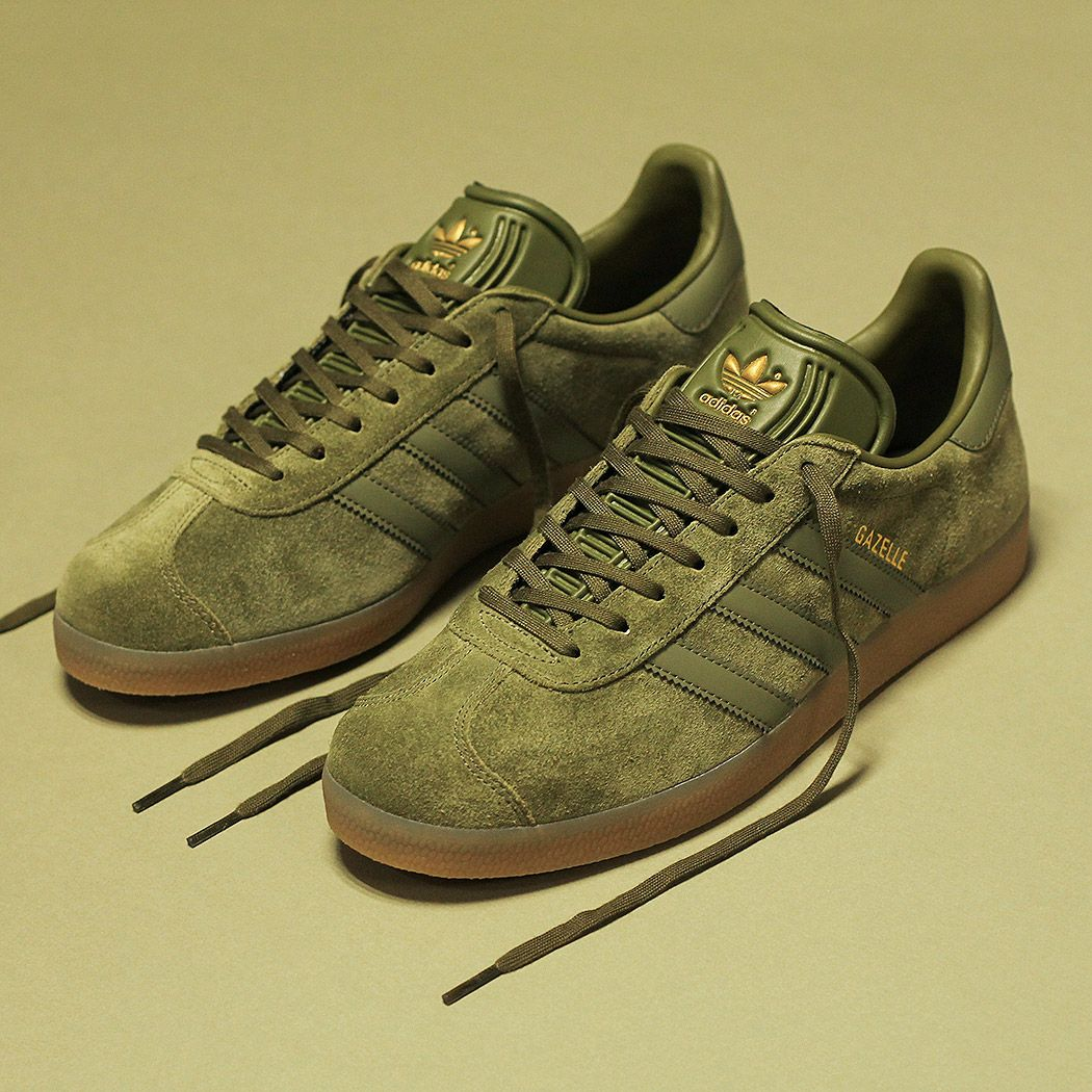 save off 17693 0fae7 adidas Gazelle in olivecargo