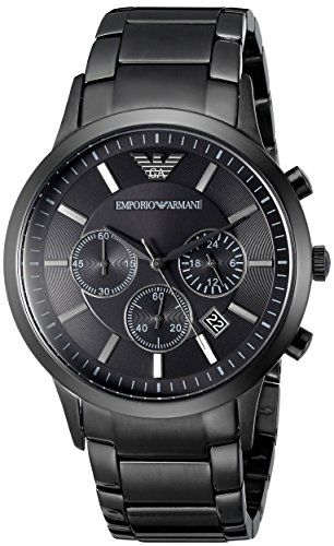 Emporio Armani Men S Ar2453 Dress Black Mesh Watch Empori Armbanduhr Armani Uhren Uhren Herren