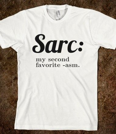 Sarc: my second favourite -asm